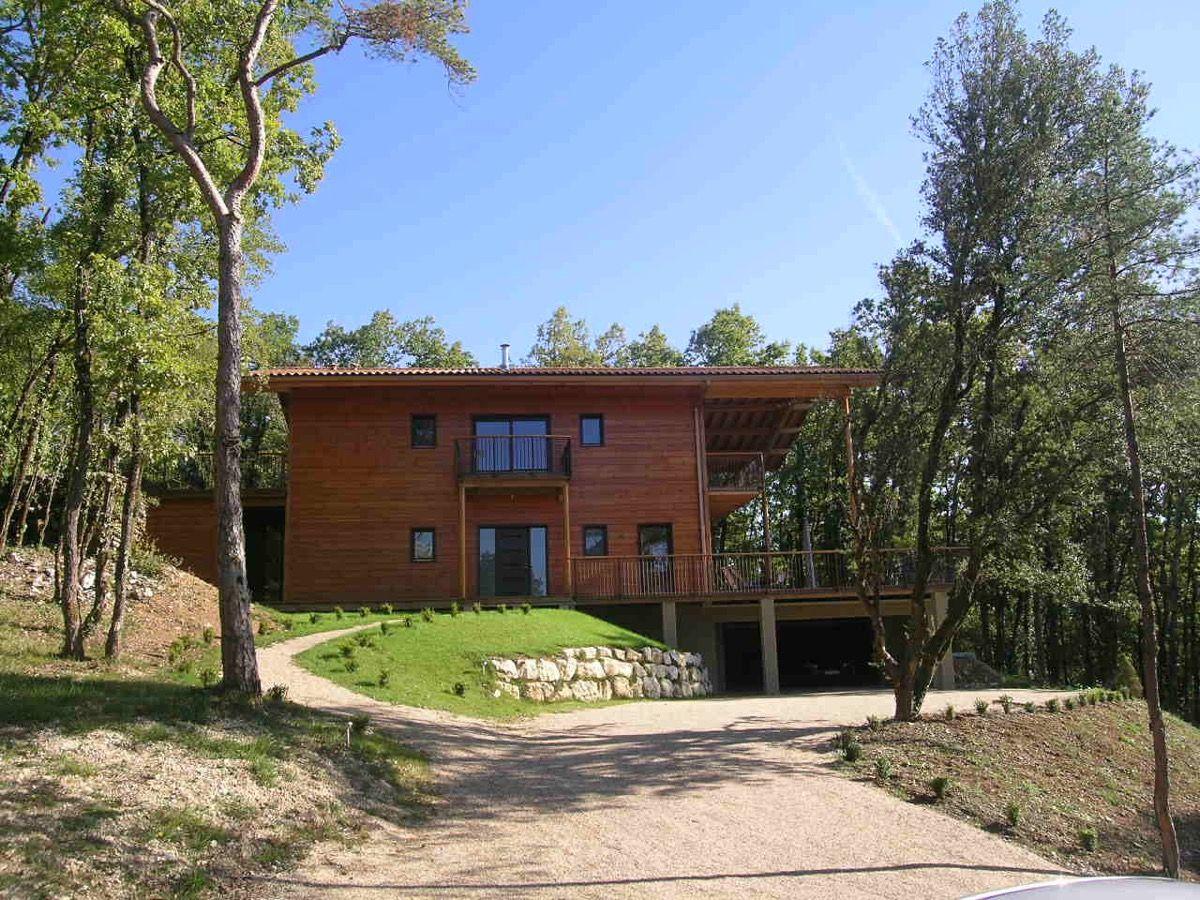 Habitation en bois originale