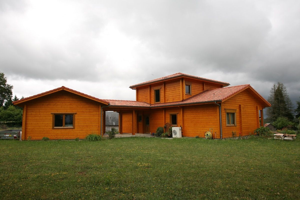 Habitation cosy en bois