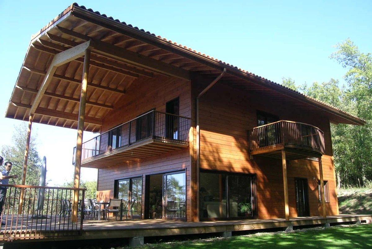 Maison toute en bois