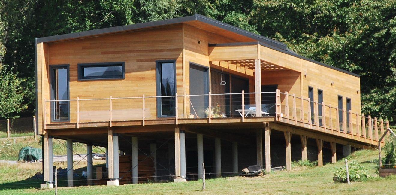 Maison Bois Guillaumie Finition Bardage