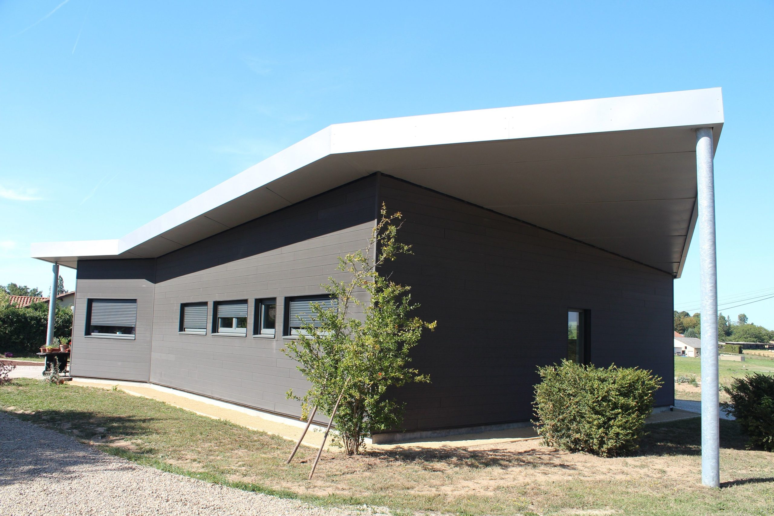 maison moderne Guillaumie