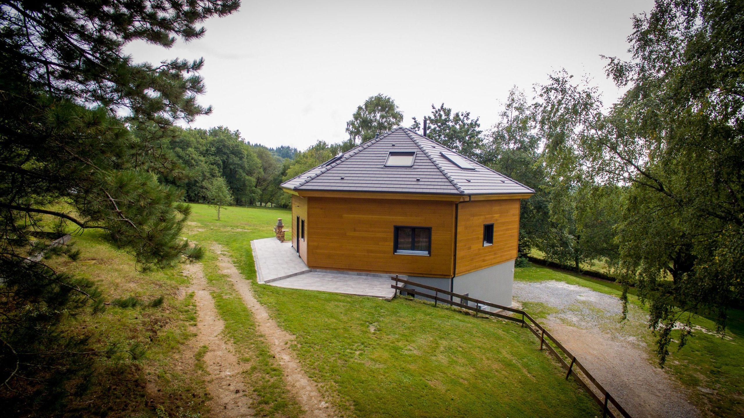 Maison bois Guillaumie